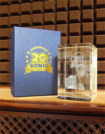 Sonic 20th Anniversary クリスタルキューブ
