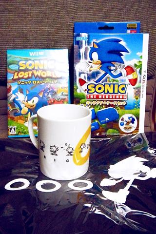ソニックロストワールドDXパック Wii U版&ソニック キャラクターケースセット